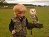 Kaleb and Barn Owl