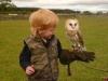 Kaleb and Barn Owl